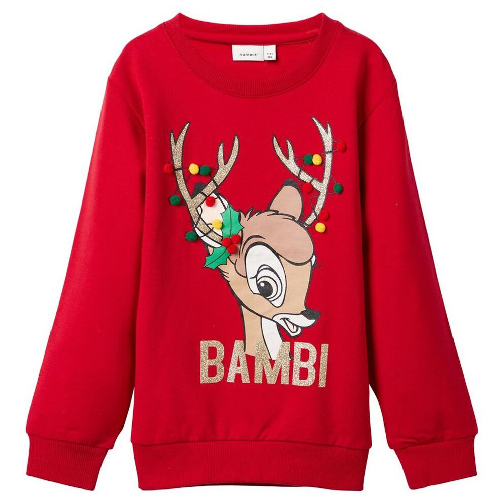 Джемпер Name it Bambi, арт. 193.13174591.JRED, цвет Красный