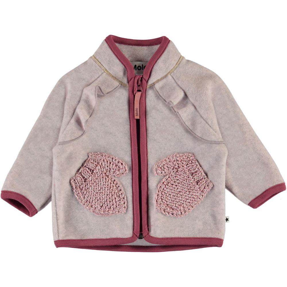 Кардиган Molo Uli Fair Pink, арт. 5W20L209.8226, цвет Сиреневый