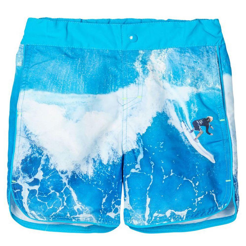 Шорты Name it Hawaiian ocean, арт. 201.13175175.HOCE, цвет Голубой
