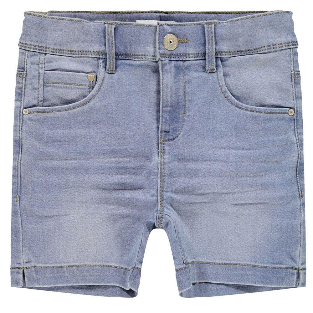 Шорты джинсовые Name it Luna, арт. 201.13173431.LBLU, цвет Голубой