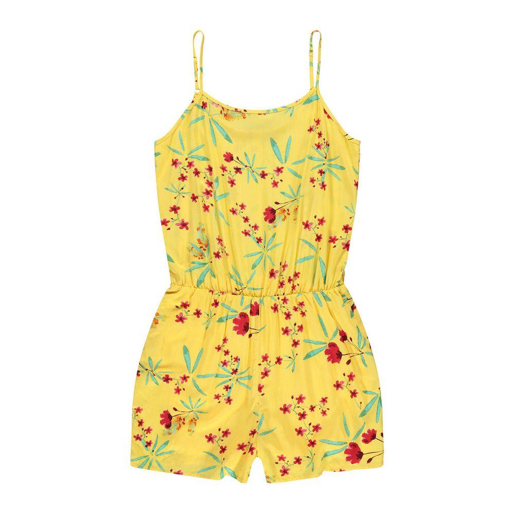 Полукомбинезон Name it Summer, арт. 201.13171283.PMAR, цвет Желтый