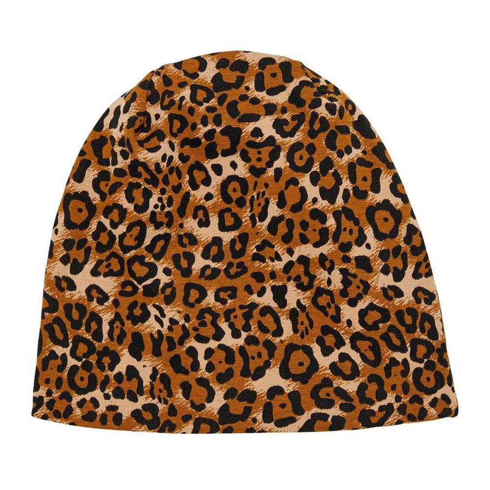 Шапка Name it Leopard, арт. 201.13173447.BBRO, цвет Коричневый