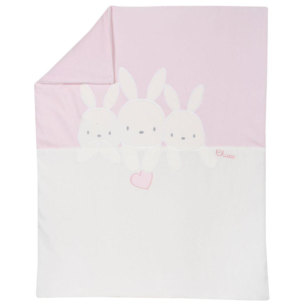 Плед Chicco Baby bunny, арт. 090.05045.011, цвет Розовый