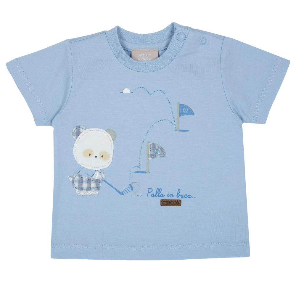 Футболка Chicco Asher, арт. 090.06908.021, цвет Голубой