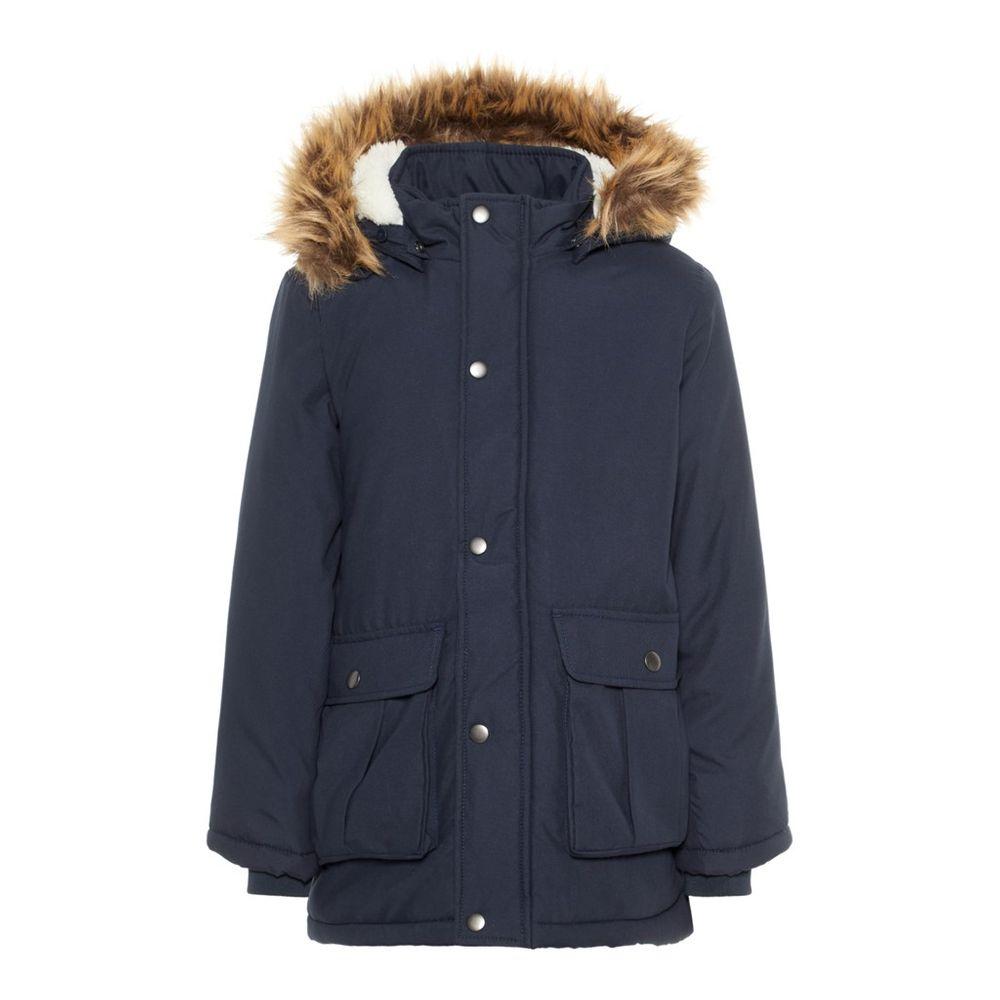 Куртка-парка Name it Travis (синяя), арт. 193.13167917.DSAP, цвет Синий