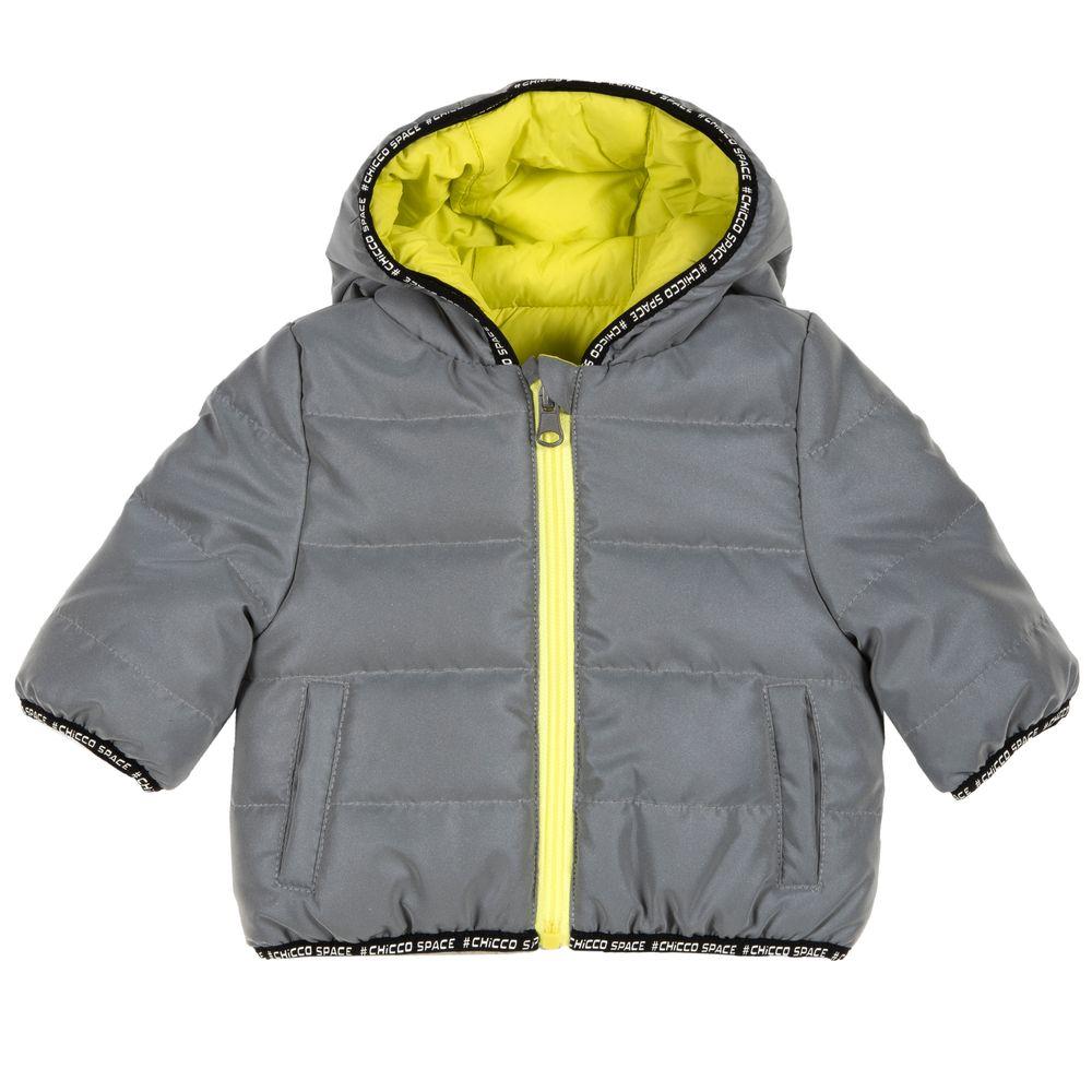 Термокуртка двухсторонняя Chicco Thermore OK, арт. 090.87022.095, цвет Серый