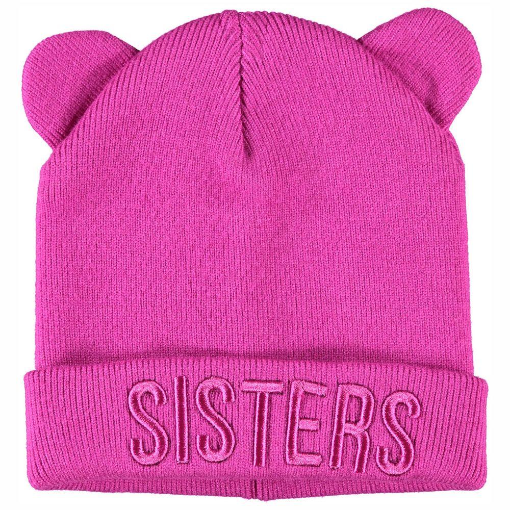 Шапка Name it Sisters, арт. 203.13179559.VBER, цвет Малиновый