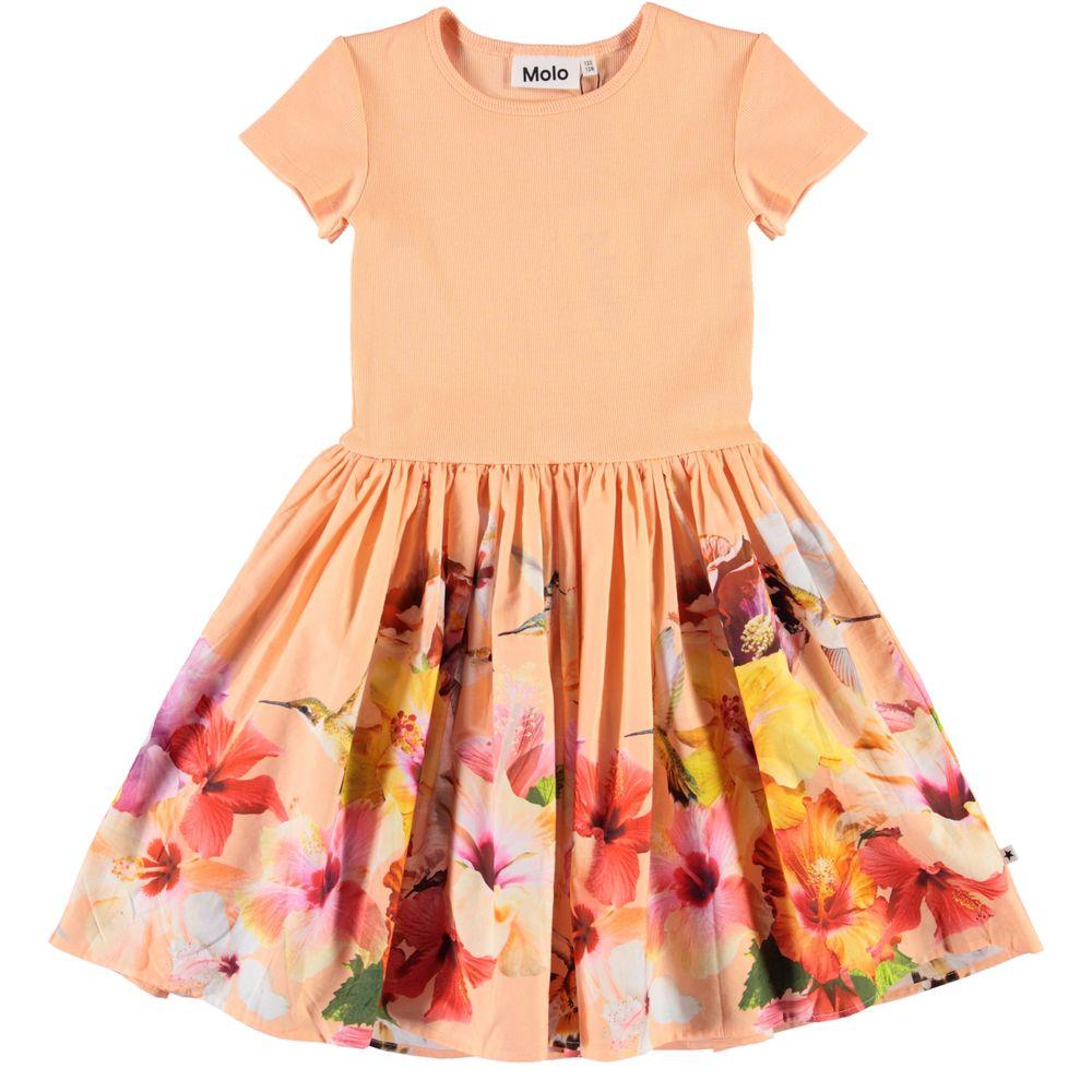 Платье Molo Cissa Hummingbirds, арт. 2S20E119.6083, цвет Оранжевый