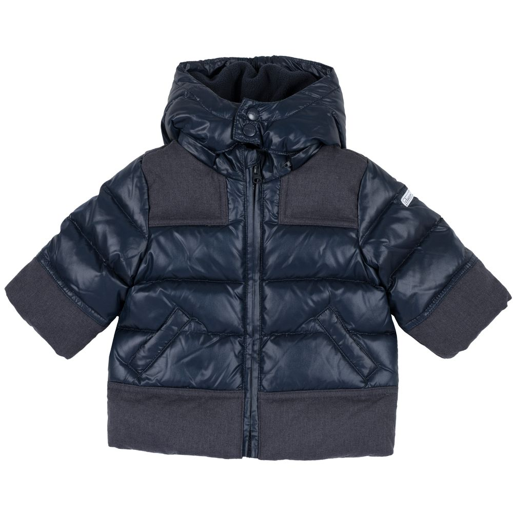 Куртка пуховая Chicco Nicola, арт. 090.87421.088, цвет Синий