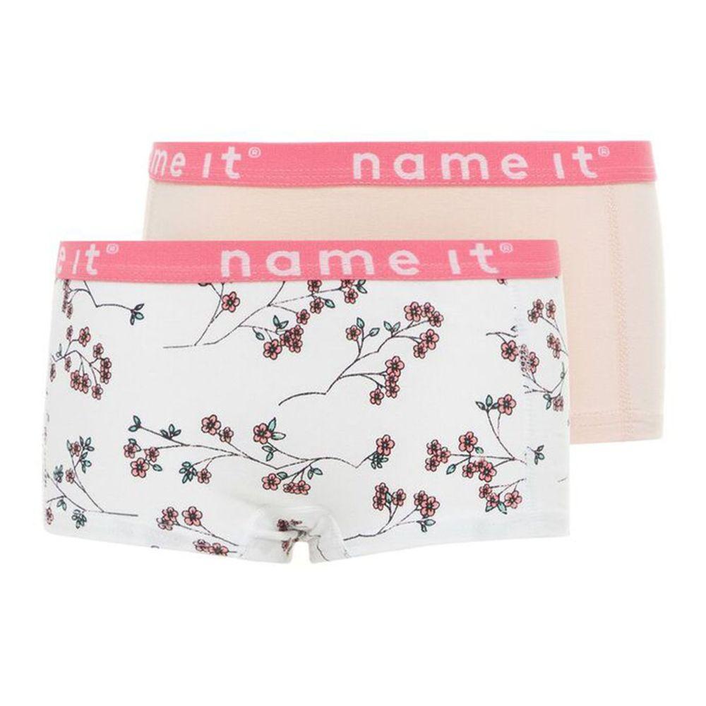 Трусы (2 шт) Name it Magic sakura, арт. 201.13163598.BWHI, цвет Розовый