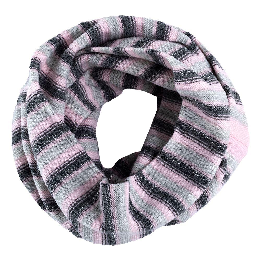 Шарф Chicco Harper, арт. 090.04783.091, цвет Серый с розовым