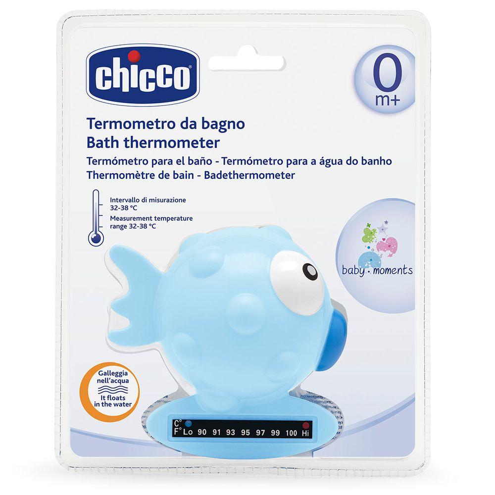 """Термометр для ванной Chicco """"Рыбка"""", арт. 06564, цвет Голубой"""