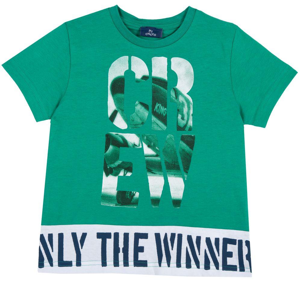 Футболка Chicco Winner, арт. 090.06980.055, цвет Светло-зеленый