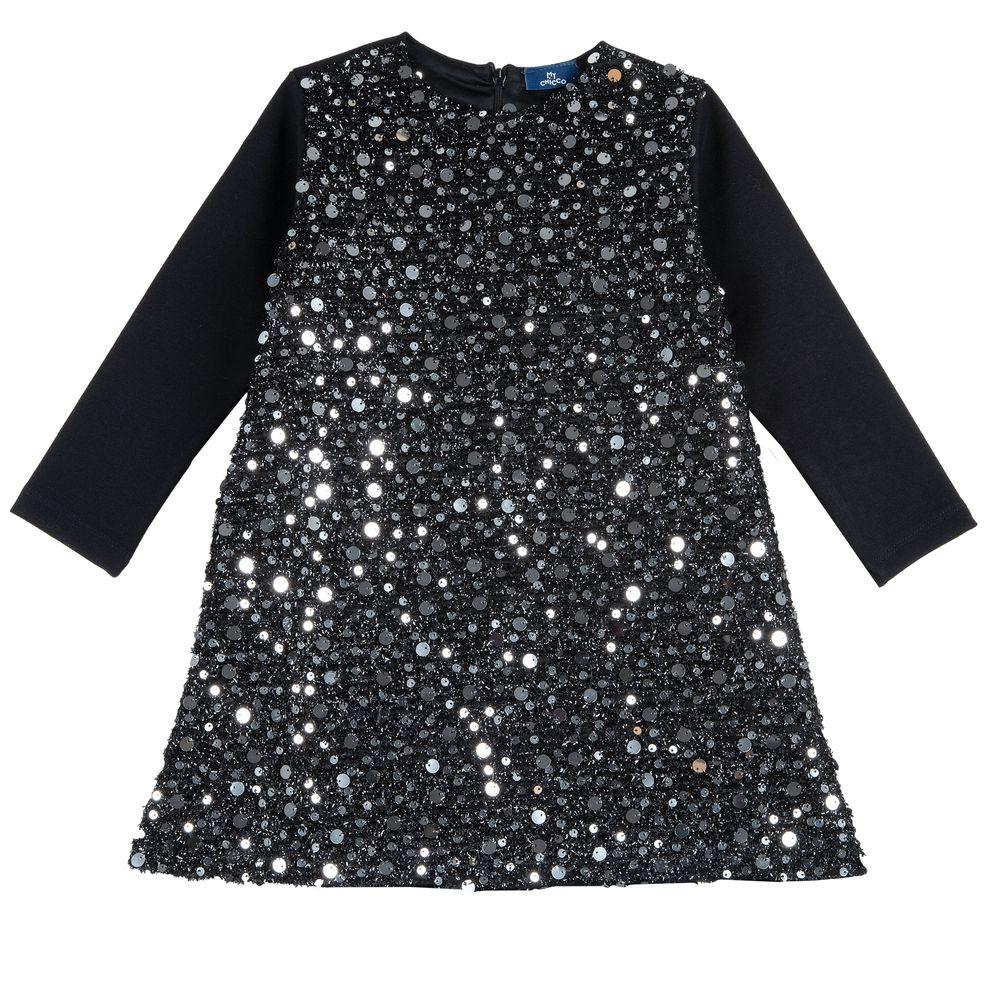 Платье Chicco Bright Star, арт. 090.03777.099, цвет Черный