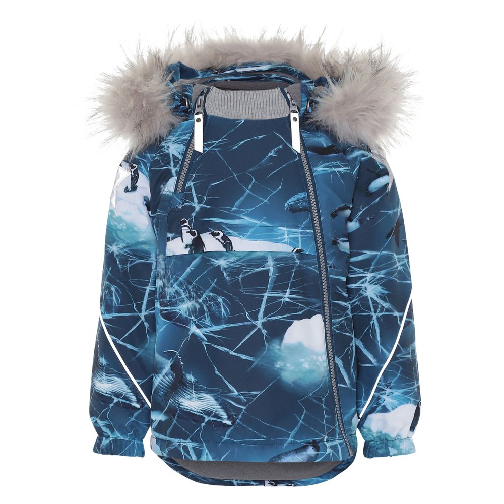 Термокуртка Molo Hopla Fur Ocean, арт. 5W19M301.4866, цвет Синий
