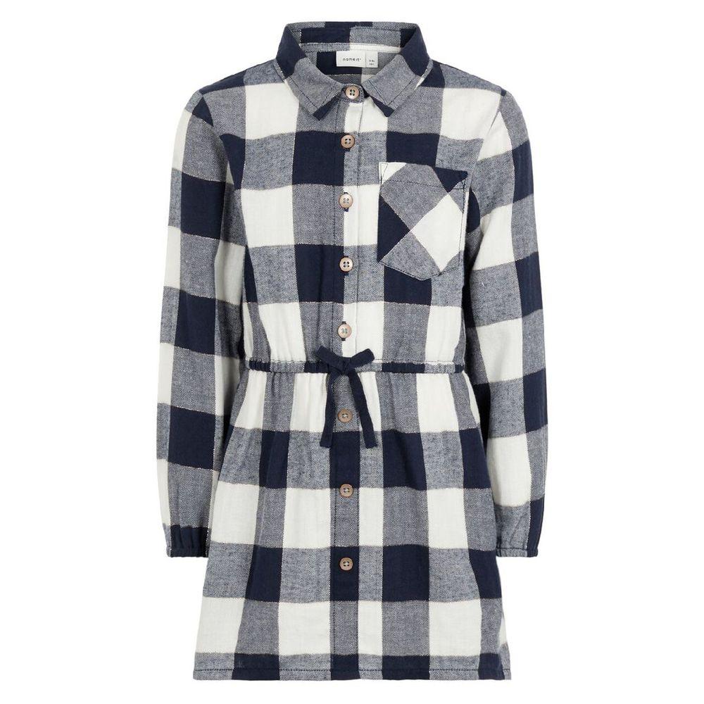 Платье-рубашка Name it Emma, арт. 193.13169268.DSAP, цвет Синий