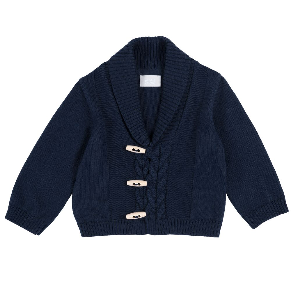 Кардиган Chicco Teddy school, арт. 090.96927.088, цвет Синий