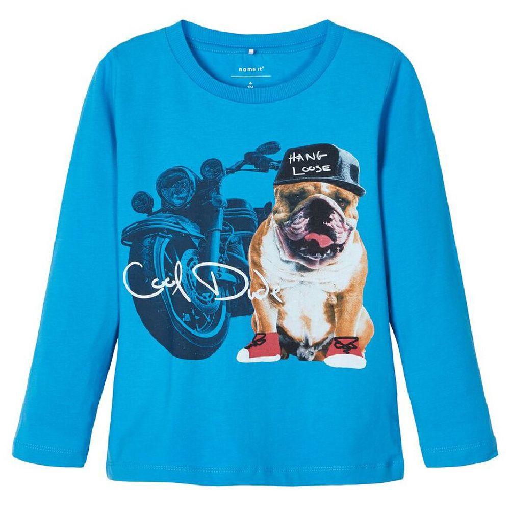 Реглан Name it Cool Dude (синий), арт. 193.13168463.SBLU, цвет Голубой