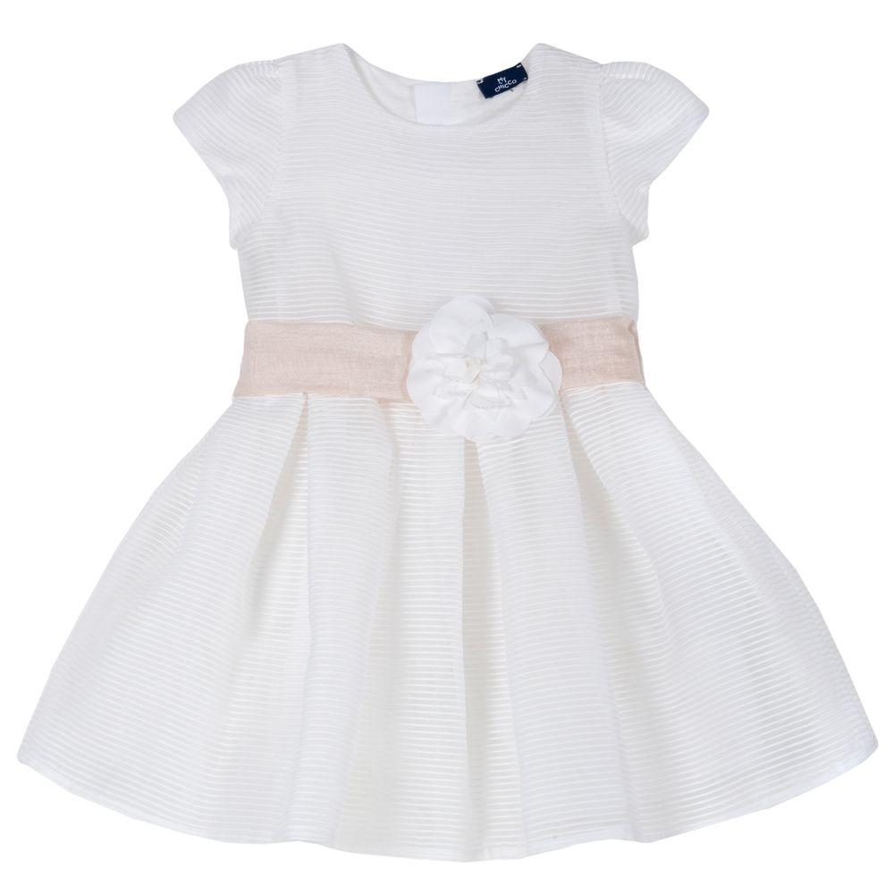 Платье Chicco Elly, арт. 090.03731.030, цвет Белый