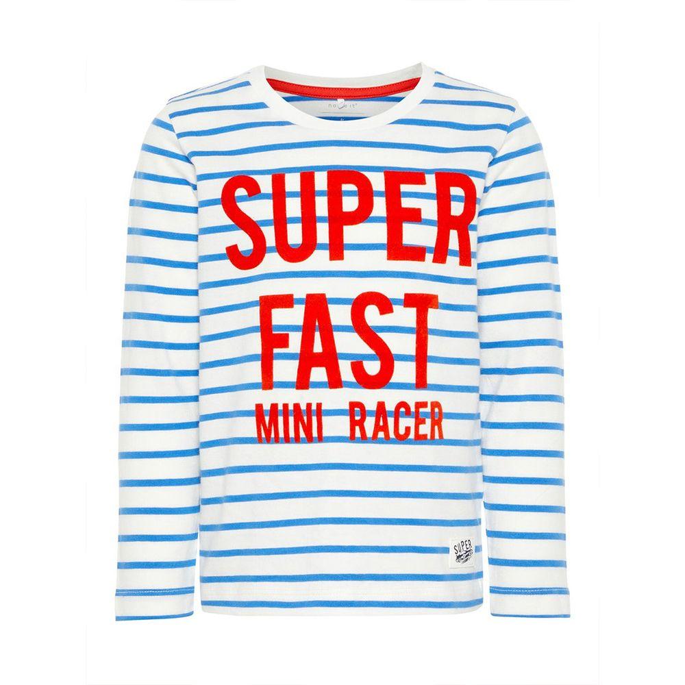 Реглан Name it Mini racer (голубой), арт. 13161436.SBLU, цвет Синий
