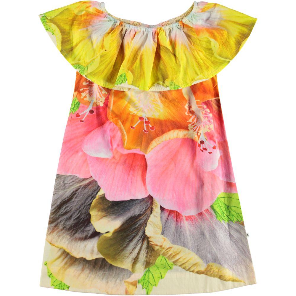 Платье Molo Cherisa Hibiscus, арт. 2S20E128.7164, цвет Розовый