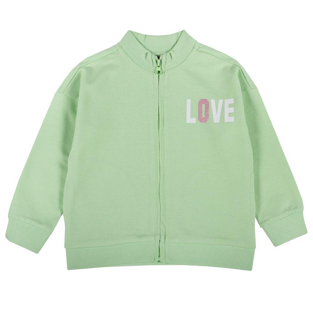 Кардиган Chicco Happy & smile green, арт. 090.96816.055, цвет Зеленый