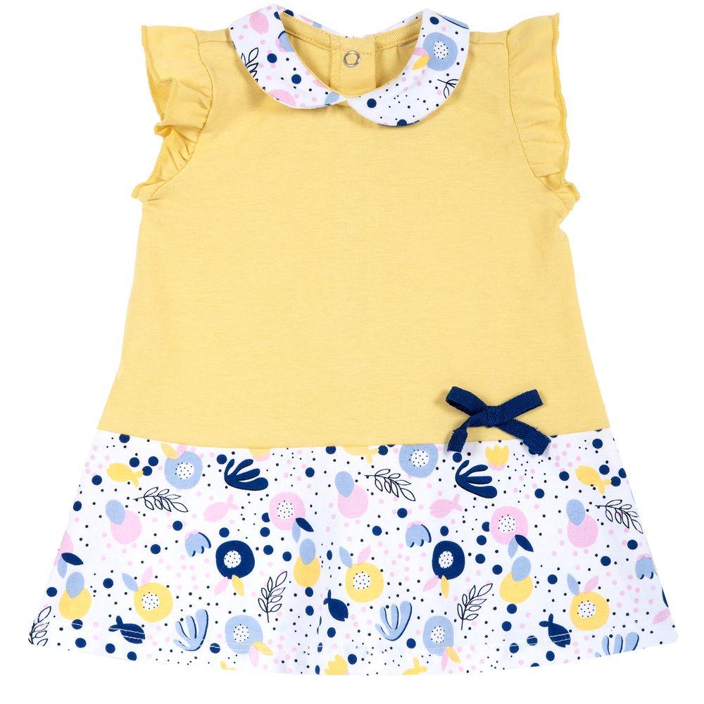 Платье Chicco Sea secrets, арт. 090.03629.041, цвет Желтый