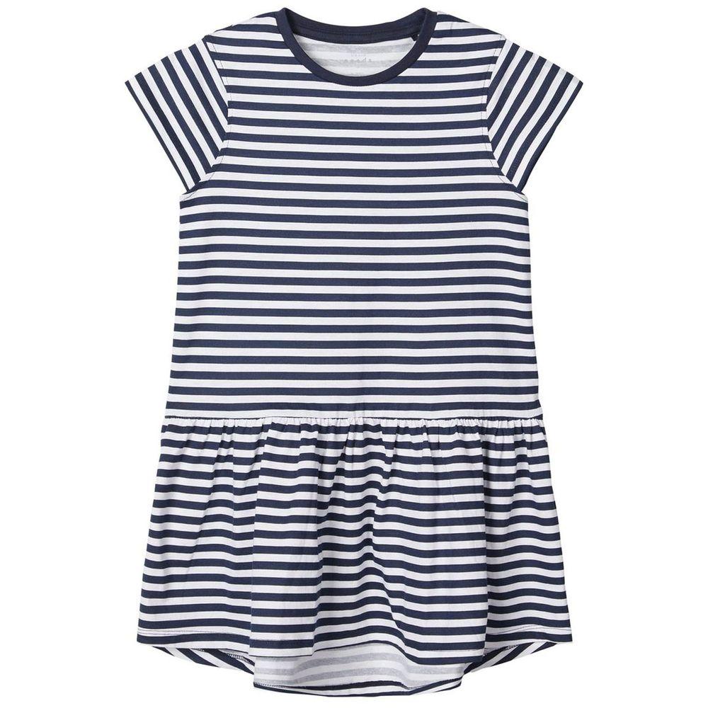 Платье Name it Blue strip, арт. 201.13173790.DSAP, цвет Синий с белым