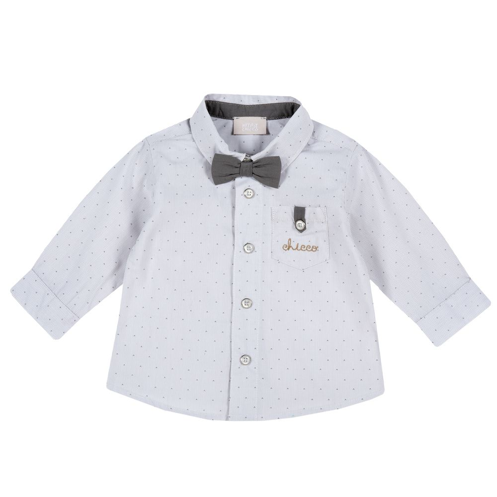 Рубашка Chicco First friend, арт. 090.54266.095, цвет Серый