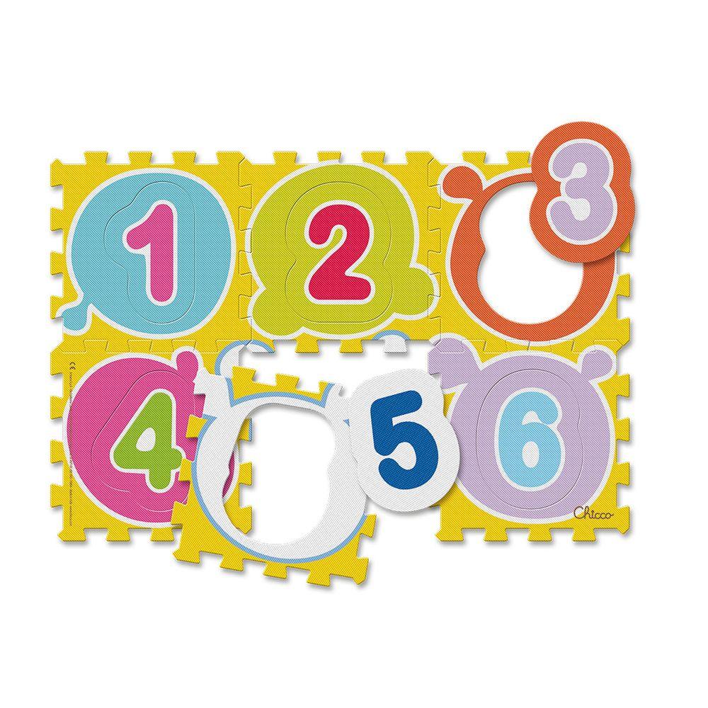 """Коврик-мозаика Chicco """"Числа"""", арт. 07161"""