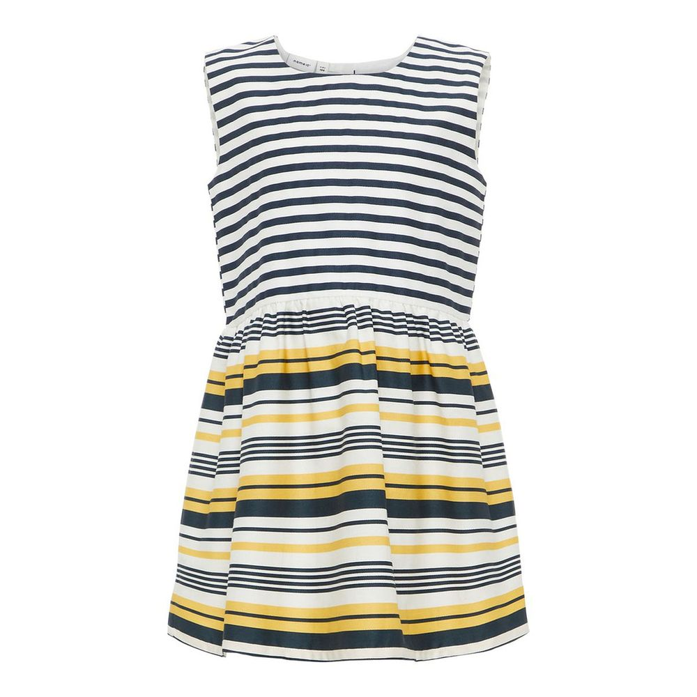 Платье Name it Lady (желтое), арт. 13164832.PMAR, цвет Желтый с синим