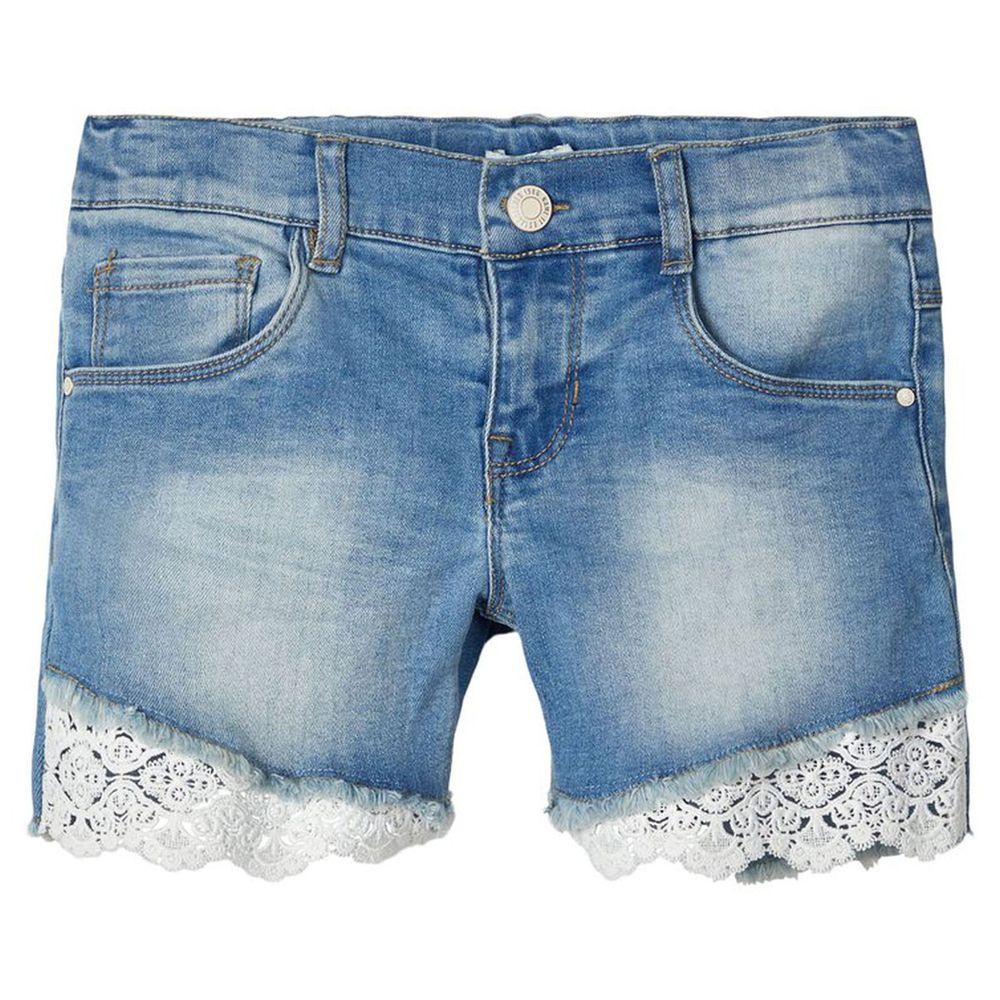 Шорты джинсовые Name it Paradise, арт. 201.13174698.LBLU, цвет Голубой