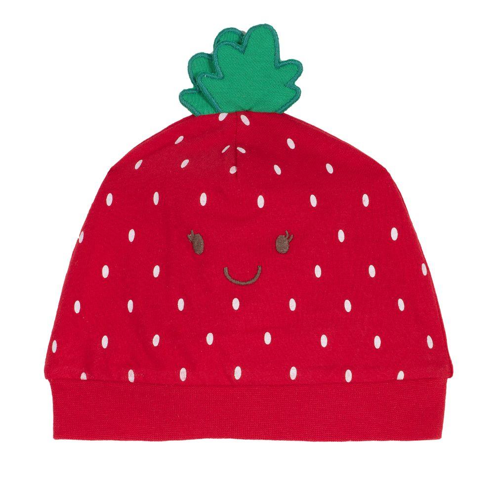 Шапка Chicco Strawberry, арт. 090.04582.075, цвет Красный