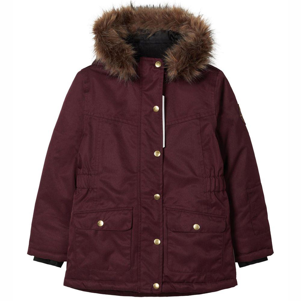 Куртка Name it Pion, арт. 203.13177608.WINE, цвет Бордовый