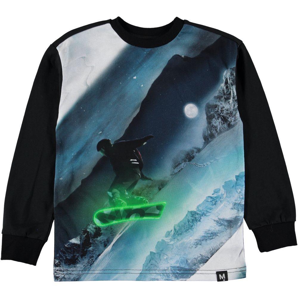 Реглан Molo Risci Night Snowboarding, арт. 1W19A407.7078, цвет Черный