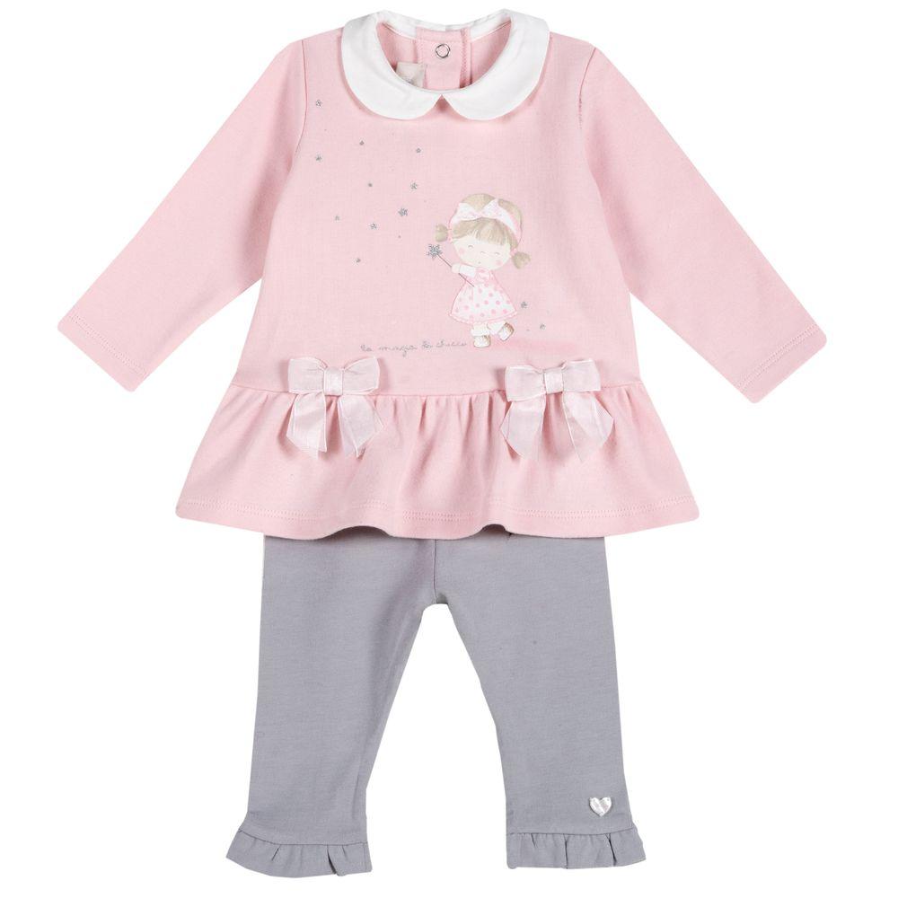 Комплект Chicco Magic fairy: платье и леггинсы, арт. 090.73471.010, цвет Розовый