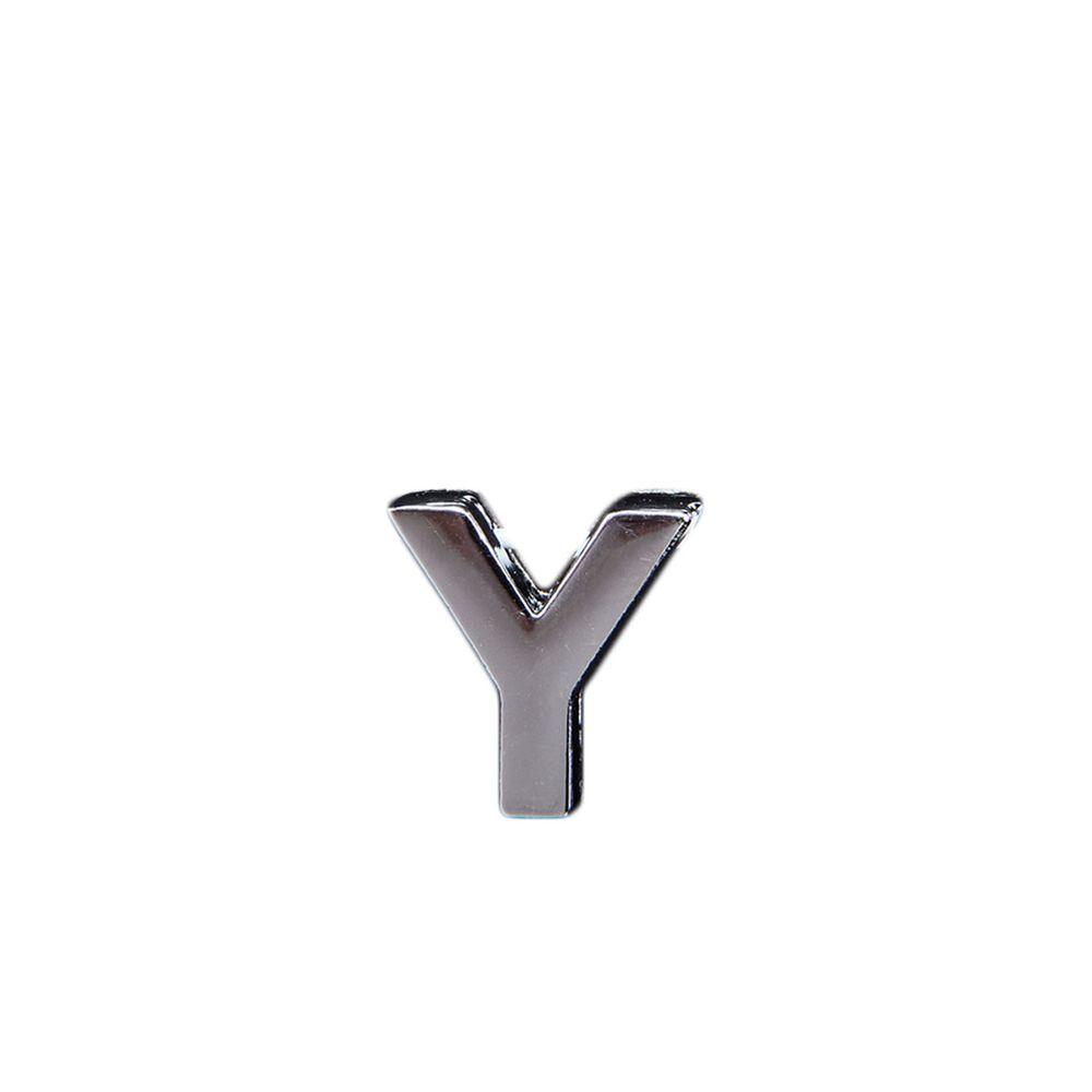 """Эмодзи Tinto """"Буква Y"""", арт. GMLT00935, цвет Серебряный"""
