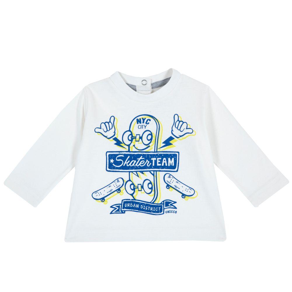 Реглан Chicco Free spirit (белый), арт. 090.06821.030, цвет Белый