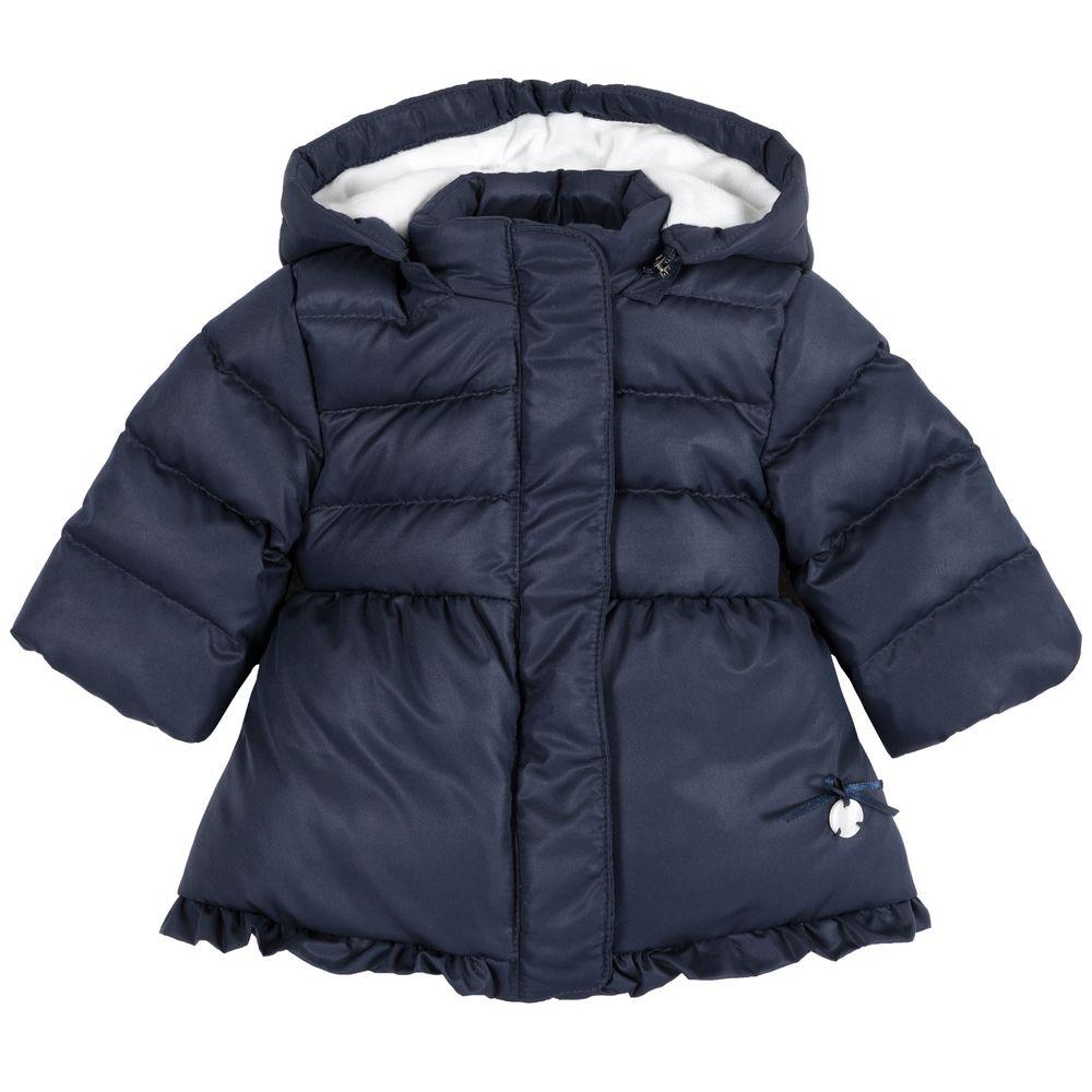 Куртка пуховая Chicco Alice, арт. 090.87431.088, цвет Синий