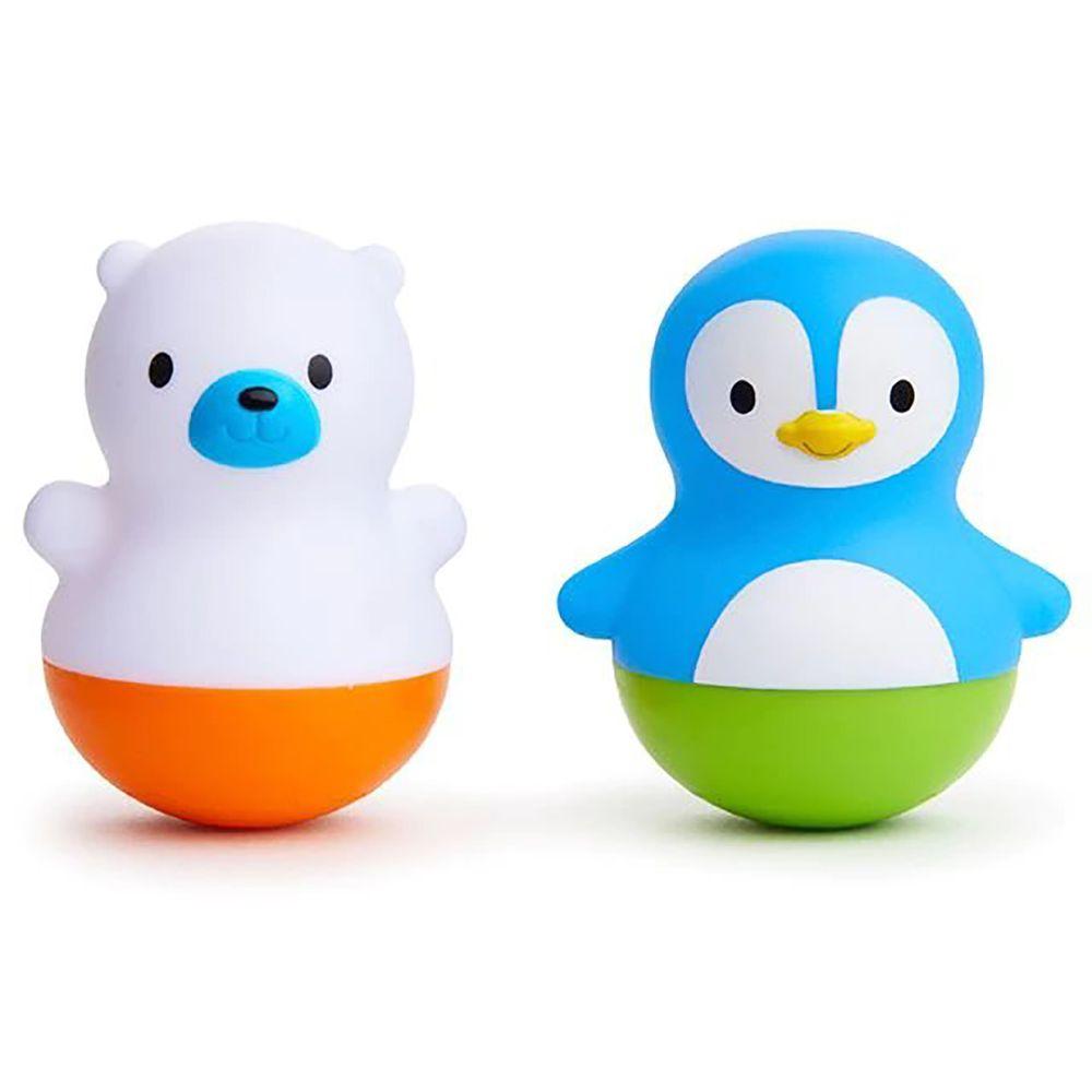 """Игрушка для ванной Munchkin """"Веселые поплавки"""", арт. 011013, цвет Голубой с белым"""