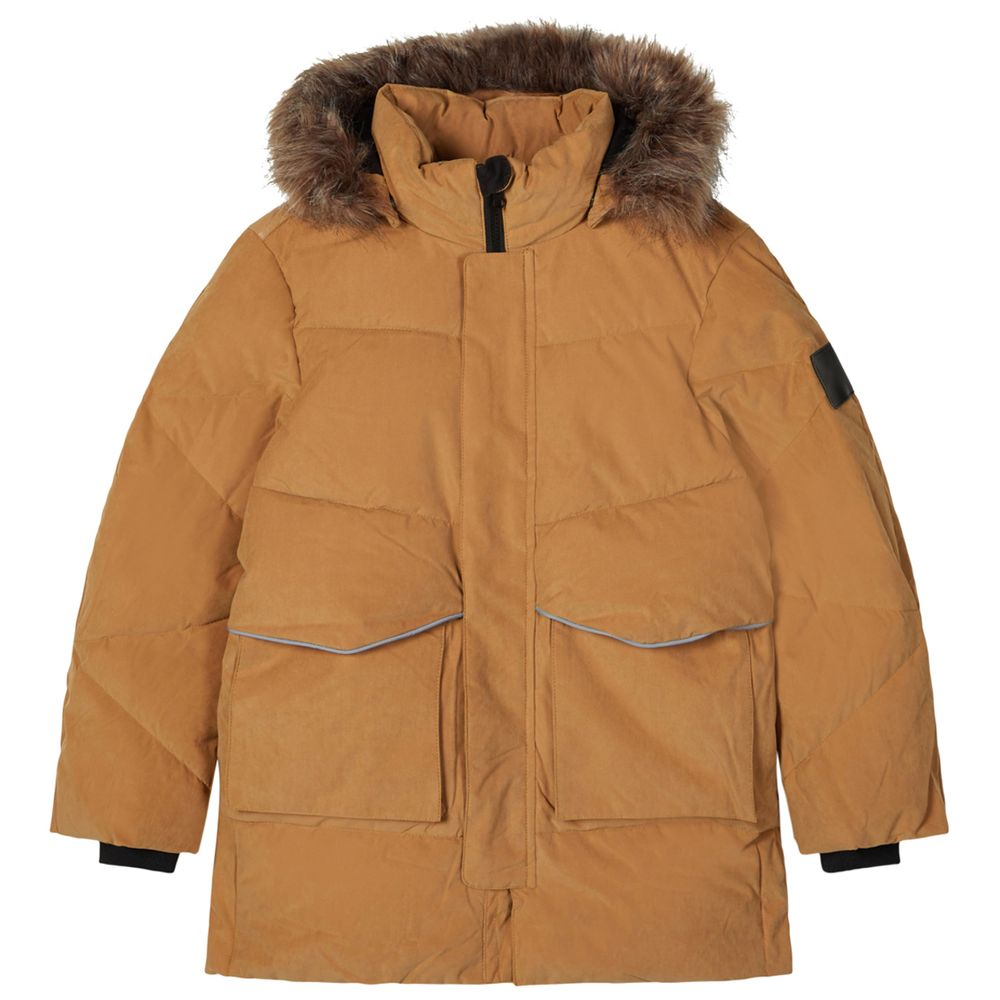 Куртка Name it Apricot, арт. 203.13182206.MBRO, цвет Горчичный