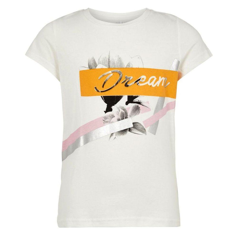 Футболка Name it Dream, арт. 201.13169376.SWHI, цвет Белый