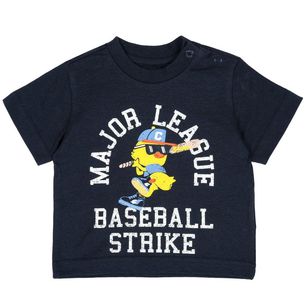 Футболка Chicco Baseball strike, арт. 090.06918.088, цвет Синий
