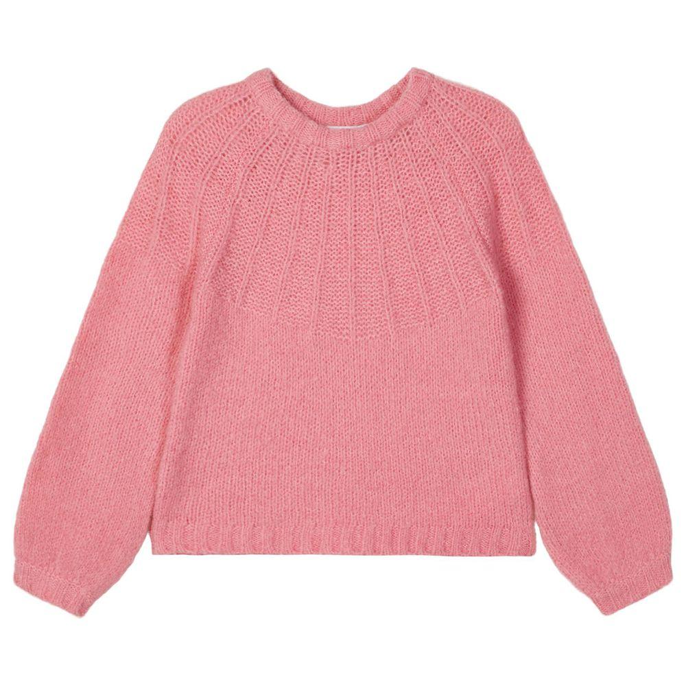 Пуловер Name it Lemon, арт. 203.13180396.WROS, цвет Розовый