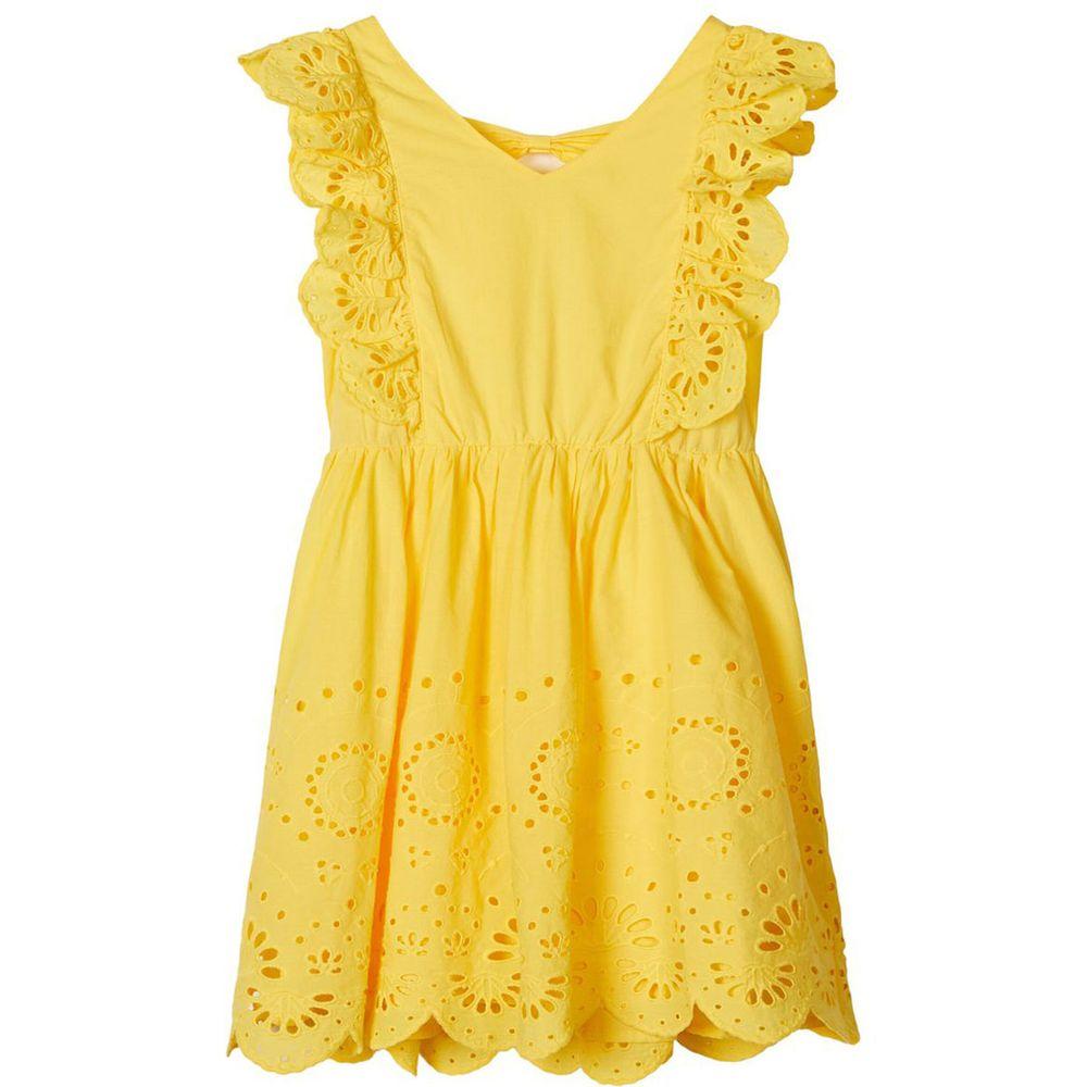 Платье Name it Luna, арт. 201.13175675.AGOL, цвет Желтый