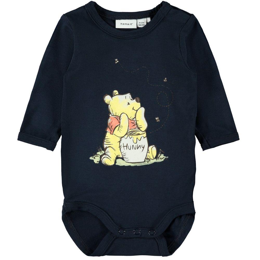 Боди Name it Winnie the Pooh (синий), арт. 201.13176568.DSAP, цвет Синий