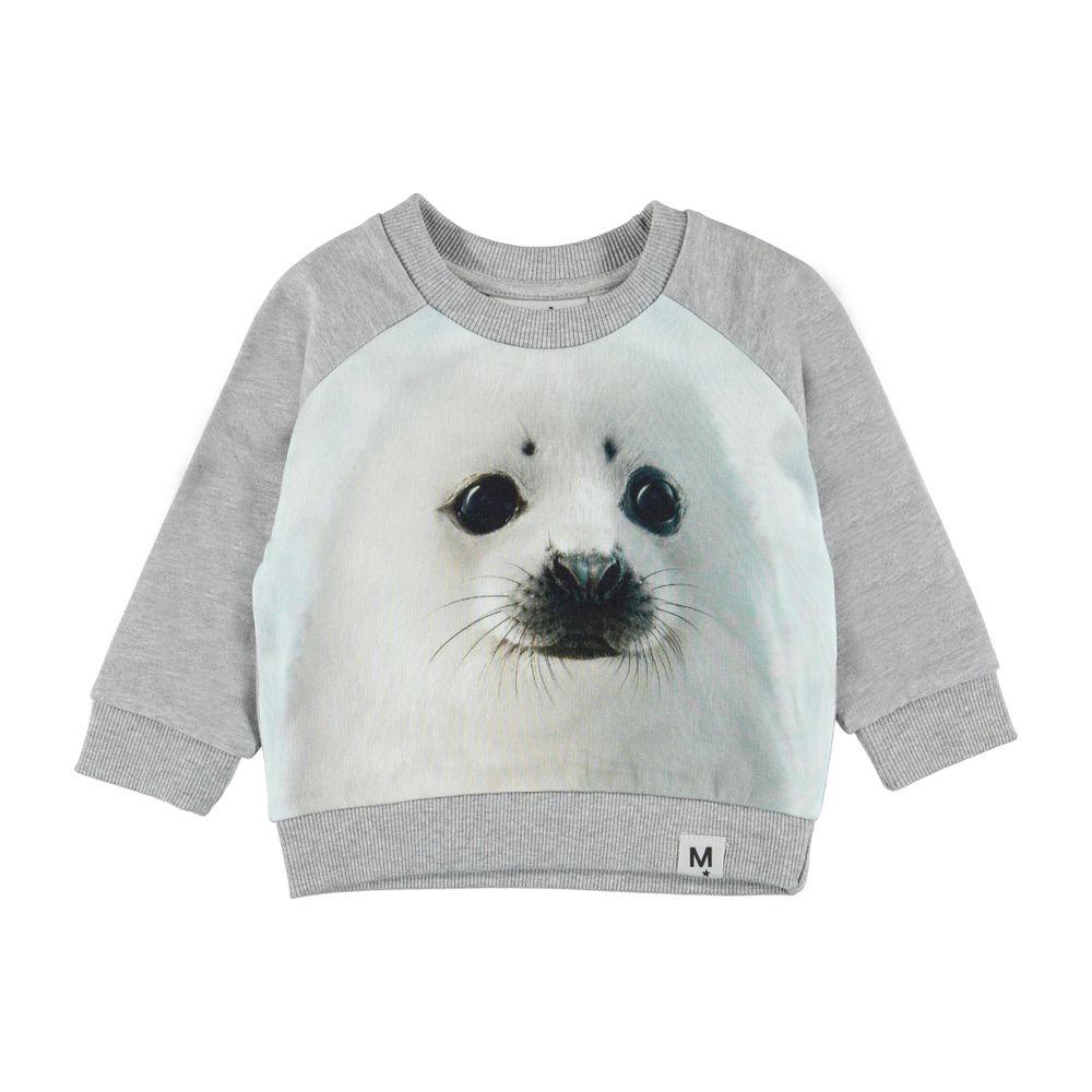 Джемпер Molo Dag Seal Pup, арт. 3W19J203.7058, цвет Серый