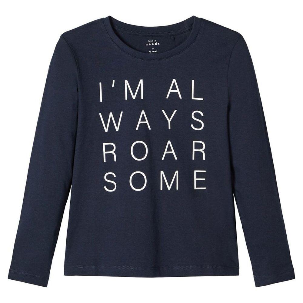 Реглан Name it Roar , арт. 203.13171466.DSAP, цвет Синий