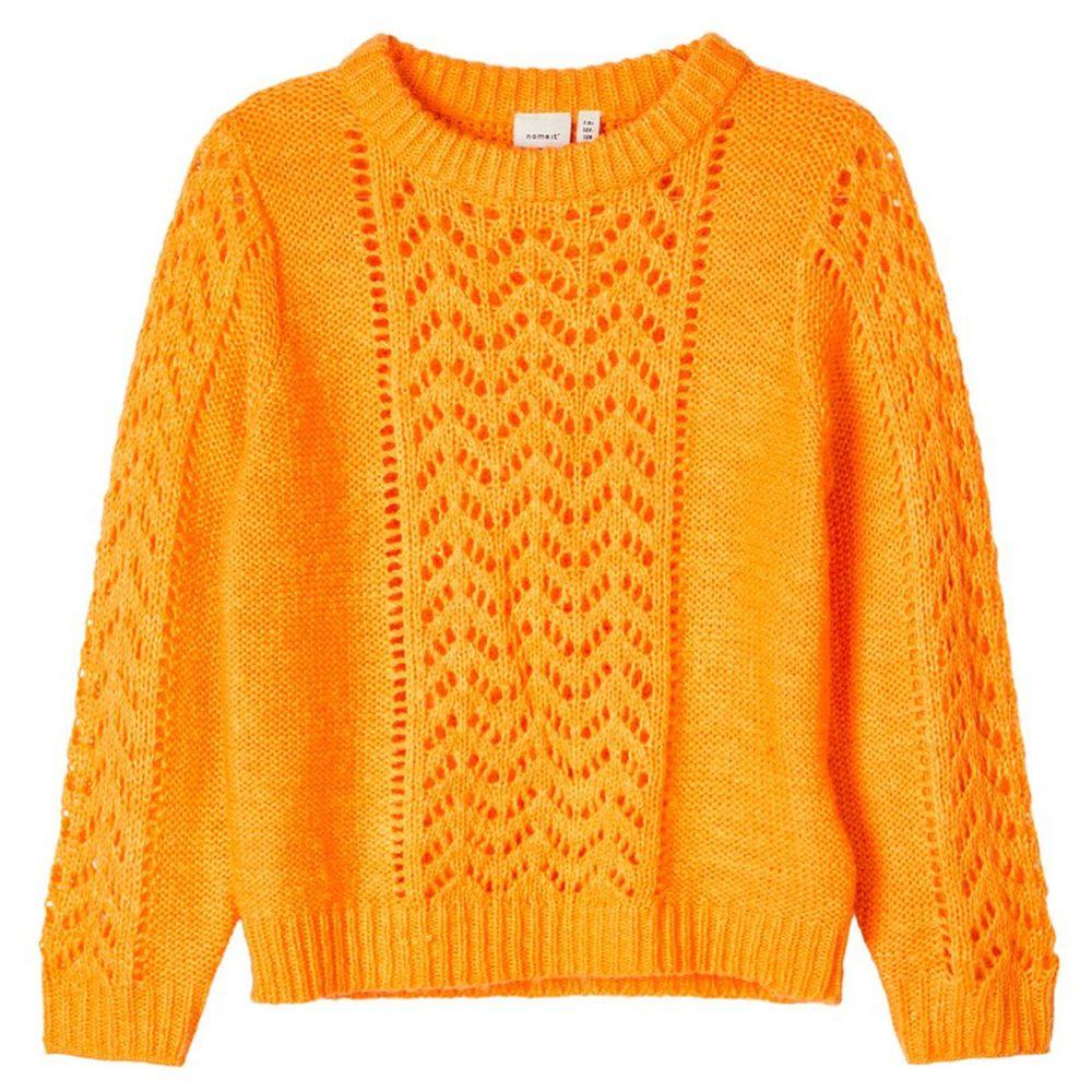 Джемпер Name it Annet, арт. 201.13179513.BORA, цвет Оранжевый