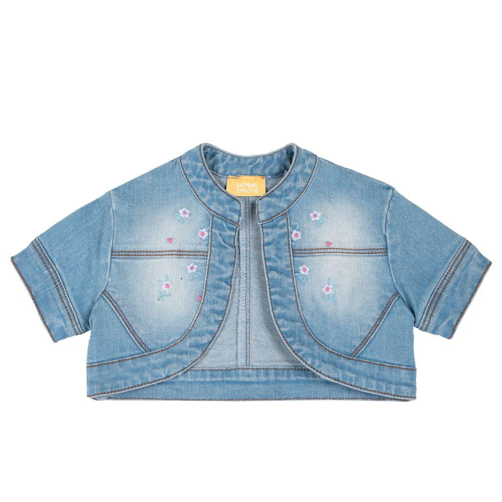 Жакет джинсовый Chicco Madelyn, арт. 090.09388.025, цвет Голубой